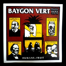 Humans = Fruit LP front cover