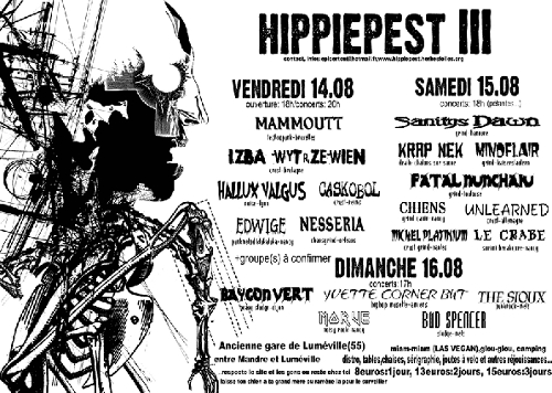 Hippie Pest Flyer